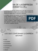 Adonay- Estados Financieros