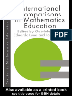 (Studies in Mathematics Education 11) Ian Huntly, Gabriele Kaiser, Eduardo Luna-International Comparisons in Mathematics Education-Springer (1999)
