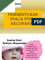Materi Pembentukan Pokja Stbm