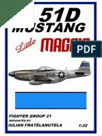 P-51D Mustang - Little Maggie