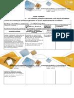 4 Guía de actividades y rúbrica de evaluación - Fase 4 - Factores psicológicos relacionados con la solución del problema.docx