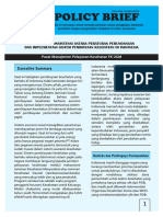 Policy Brief Pelayanan Kesehatan