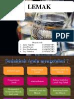 Lemak - Kimia Dasar