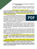PROPIEDADES DE LOS EXTRANJEROS DENTRO DE LOS CINCUENTA KILÓMETROS DE LA FRONTERA