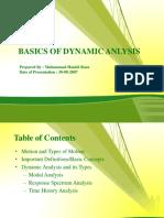 Dynamic Anlysis