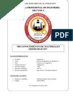 MATERIALES SIDERURGICOS DE ELEMENTO DE MAQUINAS