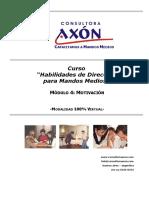 Axon LS1CD Modulo4 Motivacion