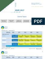 170703 World Health Summit 2017 Preliminary Program Overview