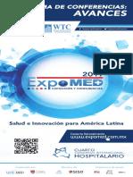 Programa Conferencias Expomed 2017 Cdmx Mexico