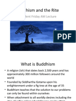 Buddhism and the Rite