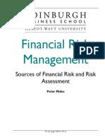 Financial Risk Management Course Taster