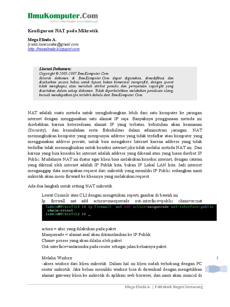 Konfigurasi-NAT-pada-Mikrotik pdf