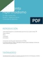 Tratamiento Hipertiroidismo