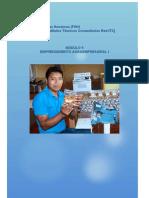 Modulo 9 Emprendimeinto Agroempresarial I