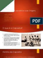 Capoeira Trabalho Historia