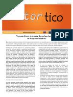 2016 NOV-DIC - Termografia en La Prueba de Nucleos Laminados en Maquinas Rotativas