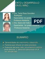 Crecimiento y Desarrollo Tania Rosa Fsa