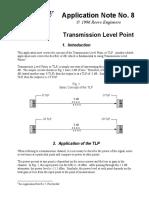 Transmission Level Point No8