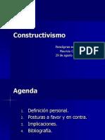 Constructivism o