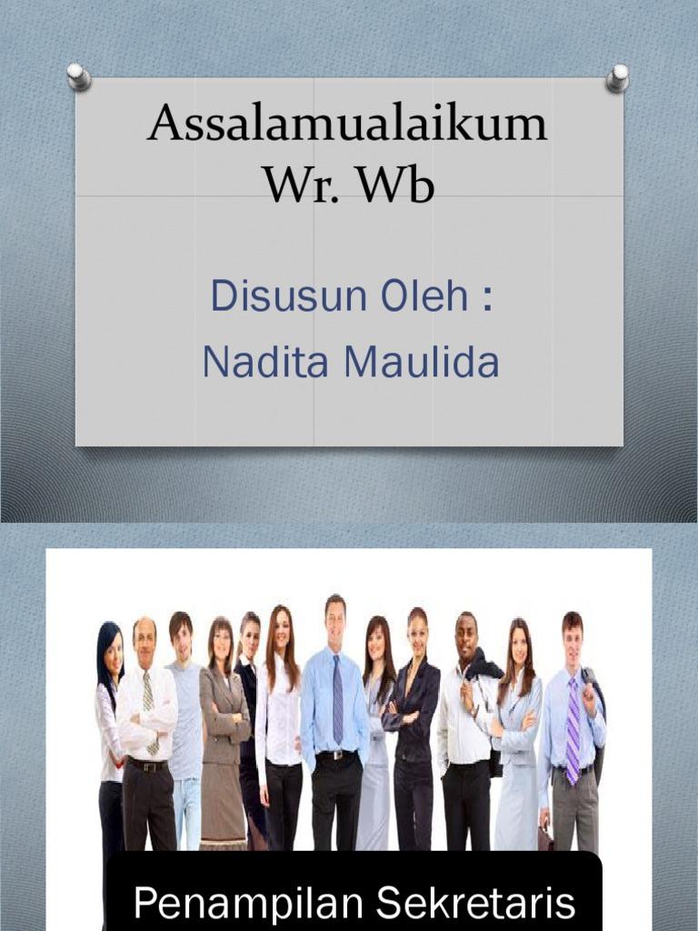 Presentasi Penampilan Sekretaris
