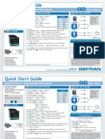 Ge Fran Controller 600 Quick Start Guide
