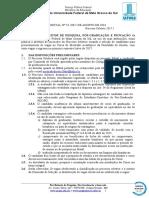 EDITAL (PROPP-RTR) n 53, de 05-08-2016.