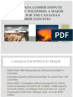 US- CANADA LUMBER DISPUTE AND THE BC WILDFIRES.pptx