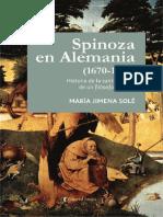 Spinoza en Alemania (1670-1789) - Solé, María Jimena.pdf
