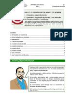 AULA 7 - O SIGNIFICADO DA MORTE DO HOMEM - APOSTILA.pdf