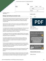 Design and build procurement route - Designing Buildings Wiki.pdf