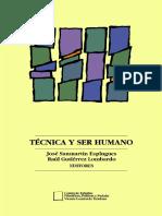 Tecnica y Ser Humano - Sanmartín y Gutierrez (Eds)