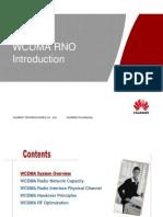 WCDMA RNO Introduction