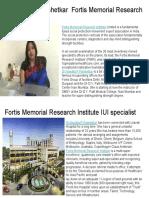 Fortis Memorial Research Institute