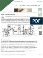 0-30V Lab Variable Power Supply