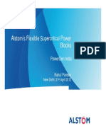 Alstom's Flexible Supercritical Power
