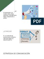 Estrategias de Comunicación MKT