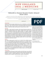 Palbociclib in Hormone-Receptor-Positive Advanced Breast Cancer
