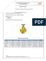 Gate Valve Specifications - Process Piping