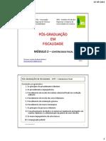Módulo 2 - Cppt - Pós-graduação Fiscalidade - Porto - 2 Slides