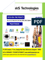 IEEE 2017-18  BE Final Year Complete Project Title List