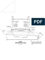 Culvert Profile (Flowable Fill Backfill) PDF