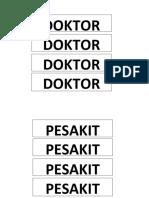 Doktor Pesakit