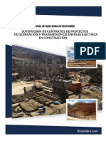 Proyectos Generacion Transmision Electrica Construccion Diciembre 2016