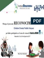 Reconocimiento Dreambots Christian