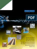 Power Sprays 50th Anniversary Brochure
