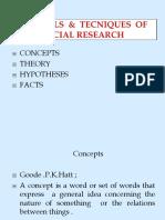 Unit-II Tools of Social Research