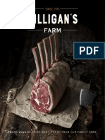 Gilligans Farm Meat Brochure