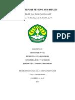 Audit Report Reviews and Replies