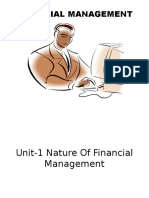 1.Unit -1 Nature of Financial Management