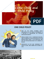 China s One Child and Two Child Policy Edited